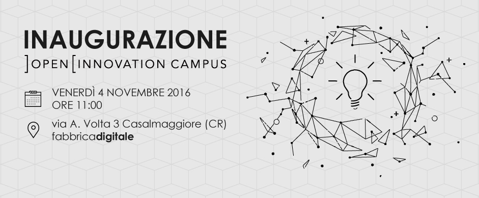 Inaugurazione Open Innovation Campus