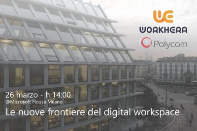 Invito evento in Microsoft - Digital Workspace