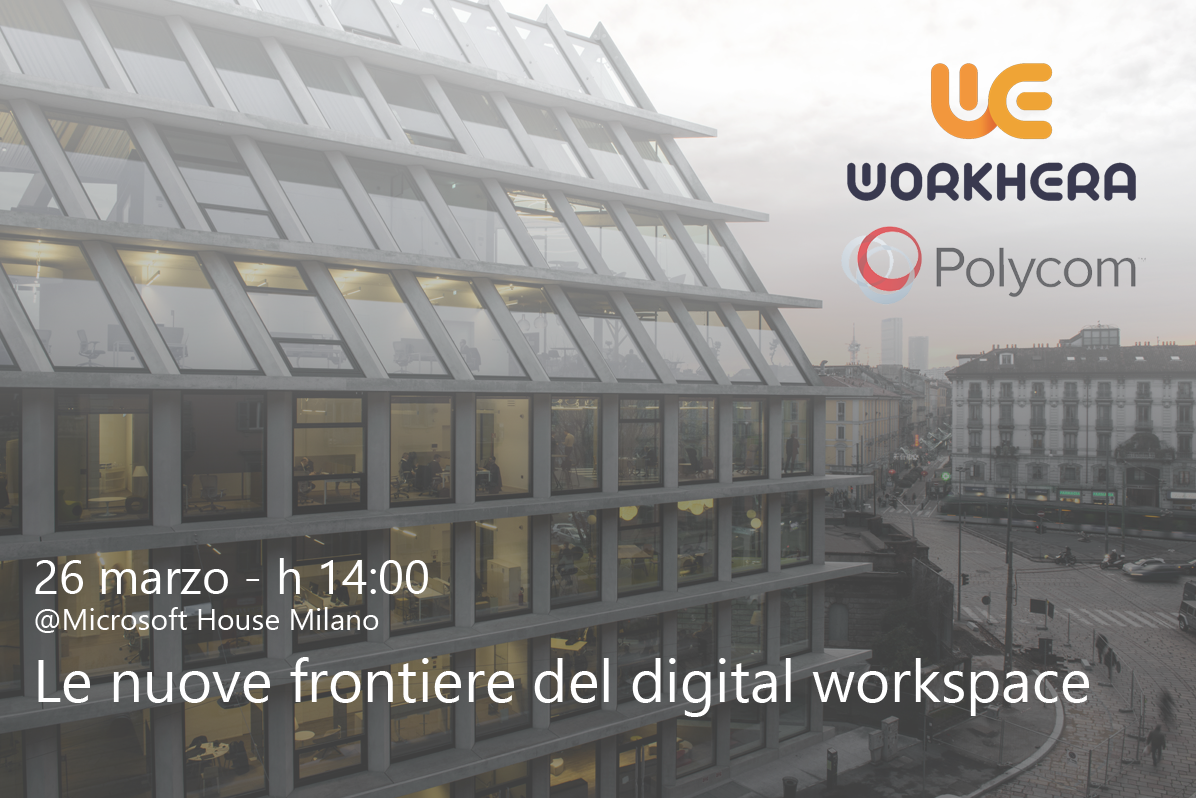 Invito evento in Microsoft - Digital Workspace