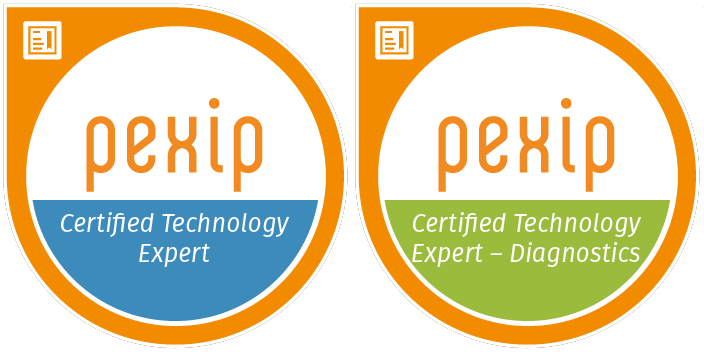 Tech certification badges