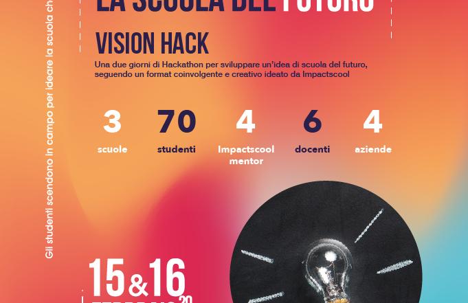 Flyer del Vision Hacka a Cremona